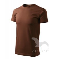Tričko pánské HEAVY NEW čokoládové