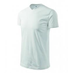 Tričko pánské HEAVY V-NECK bílé