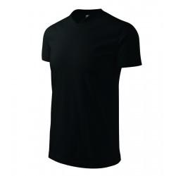 Tričko pánské HEAVY V-NECK černé