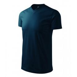 Tričko pánské HEAVY V-NECK námořní modrá