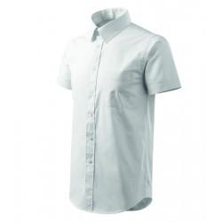 Košile pánská krátký rukáv SHIRT SHORT SLEEVE bílá