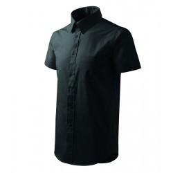 Košile pánská krátký rukáv SHIRT SHORT SLEEVE černá