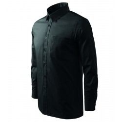 Košile pánská dlouhý rukáv SHIRT LONG SLEEVE černá