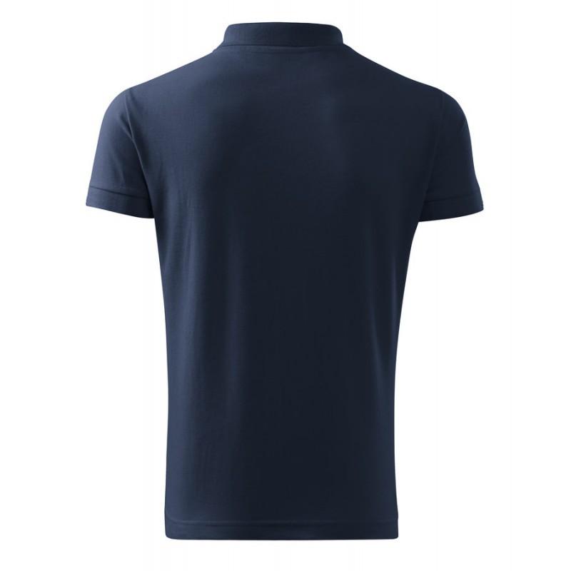 Polokošile pánská COTTON námořní modrá 07676bbdde