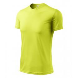 Tričko pánské FANTASY neon yellow