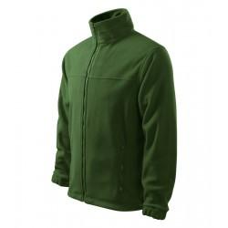 Pánská fleecová bunda JACKET lahvově zelená
