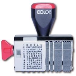 Datumovka 4mm/12 textů COLOP