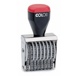 Číslovačka 4mm / 04008 COLOP - počet pásků 8