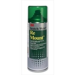 Lepidlo Re Mount - sprej 400ml 3M, zelené